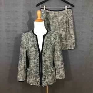 Grey Girl Perfect Skirt Suit